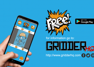 The Gridder App is on Google Play